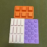 Форми для цукерок силіконові великі, фото 6