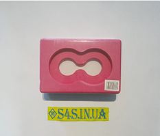 Блок для йоги (цегла для йоги) з отвором FI-5163 Рожевий