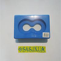 Блок для йоги (цегла для йоги) з отвором FI-5163 Синій