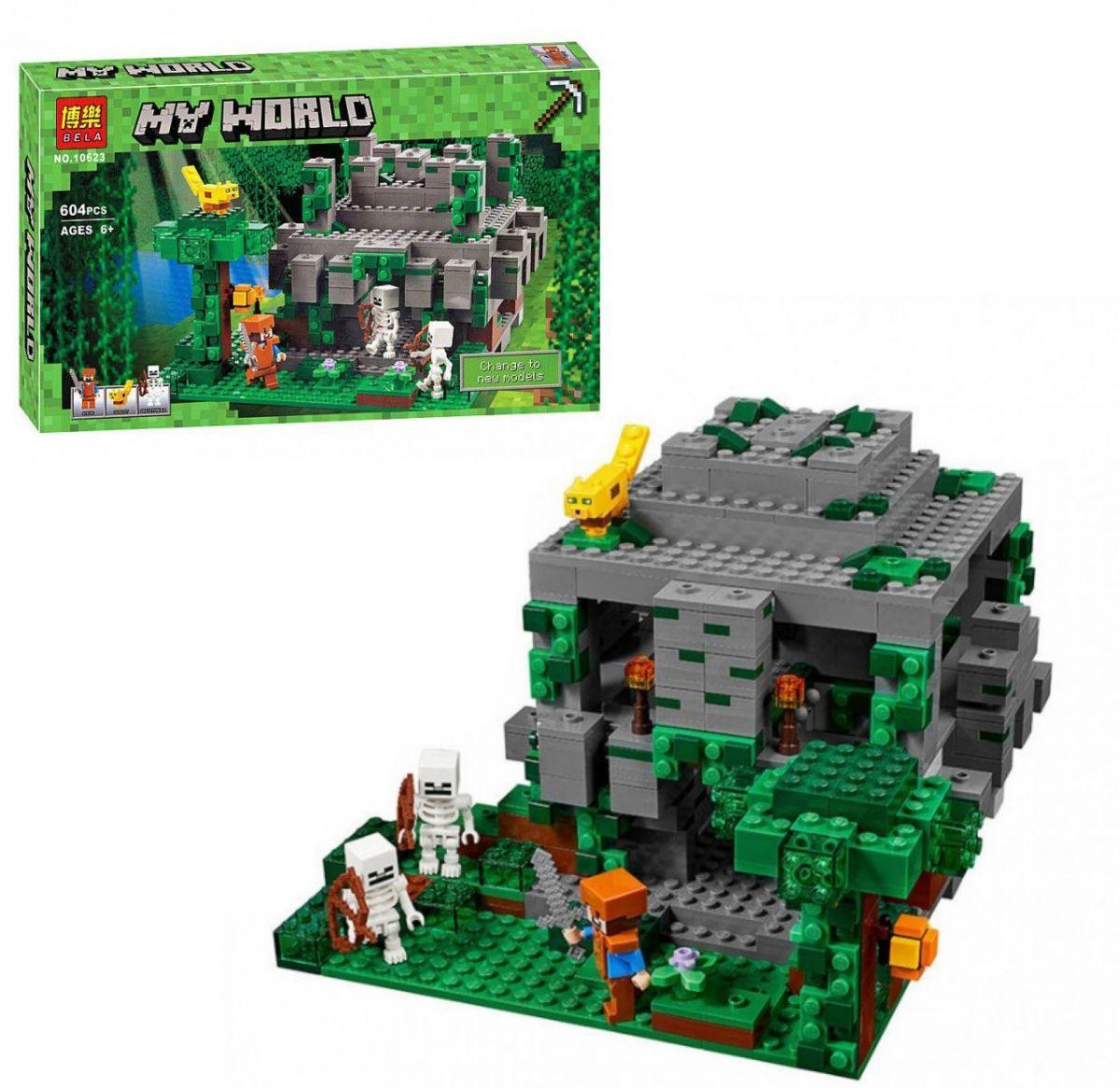 """Конструктор """"Minecraft"""" BELA 604 дет 10623"""