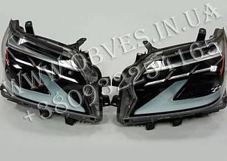 Передние фары Lexus GX460 2013-2019 стиль 2020+
