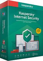 Kaspersky internet Security 2020, 1 ГОД, 3 УСТРОЙСТВА