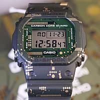 Часы Casio G-Shock DWE-5600CC-3ER Camouflage Pattern Carbon Core, фото 1