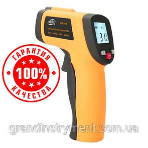 Безконтактний інфрачервоний термометр (пірометр) -50-450°C, 12:1, EMS=0,95 BENETECH GM300