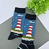 Шкарпетки з принтом Маяк, фото 2