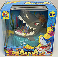 """Игра """"Шалена Акула"""" Безумная акула, на батарейках, свет, звук, в коробке FUN GAME 7386"""