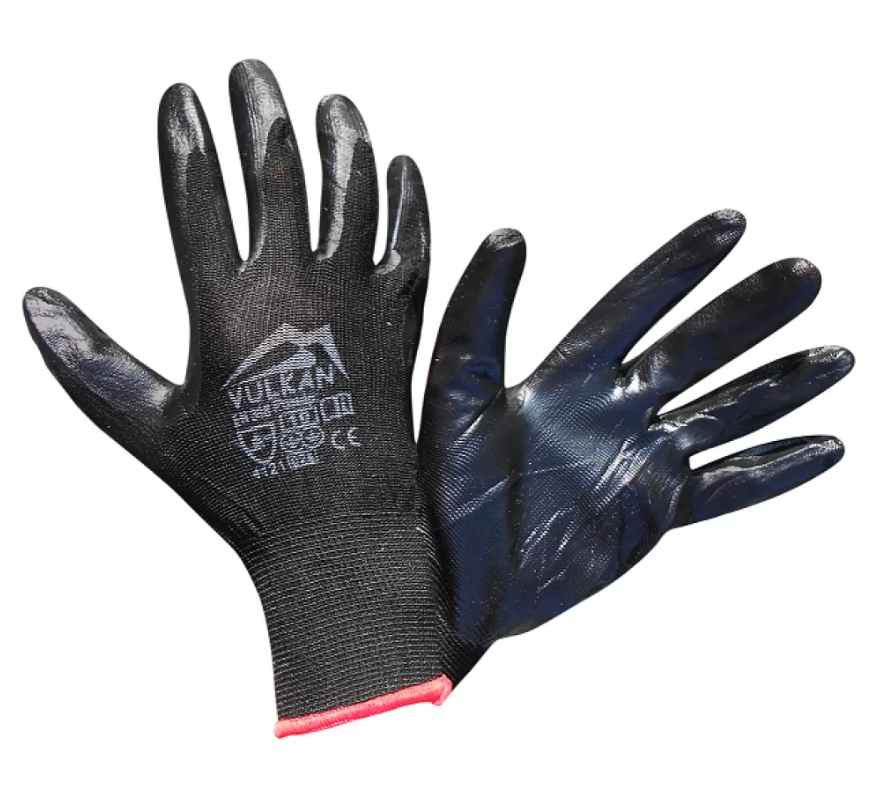 "Защитные перчатки черные ""Вампир"", Vulkan (SFG20006)"