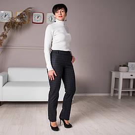 Женские утепленные брюки Френсис клетка