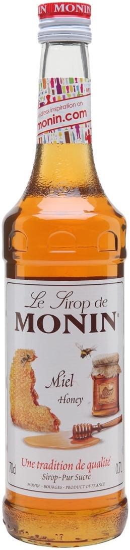 Сироп для кави MONIN Мед 0,7 л