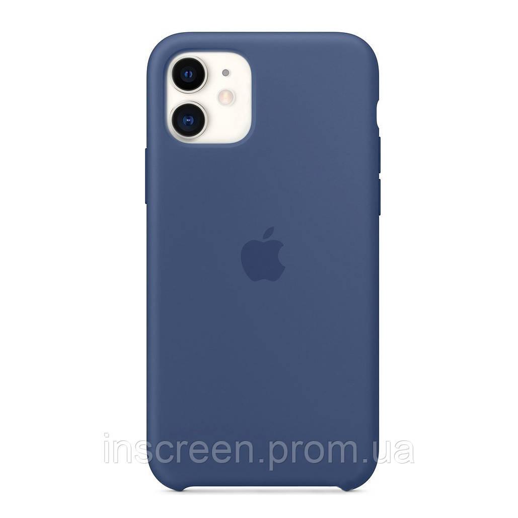 Чохол силіконовий Silicone Case для Apple iPhone 12 Mini Alaskan Blue