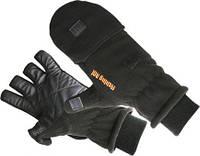 Перчатки флисовые Fishing ROI Fleece glover Black ХL
