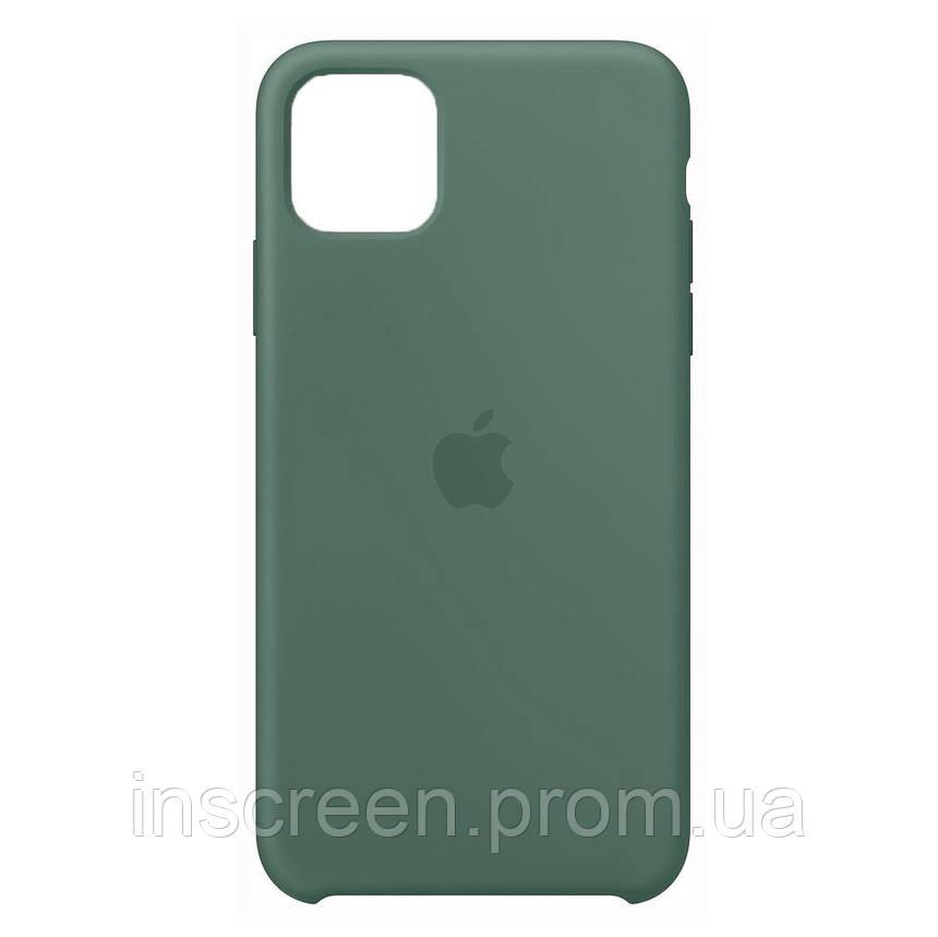 Чехол силиконовый Silicone Case для Apple iPhone 12 Mini Dark Olive, фото 2