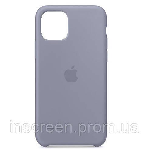 Чохол силіконовий Silicone Case для Apple iPhone 12 Mini Lavender Gray