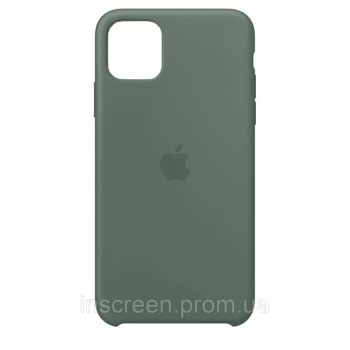 Чохол силіконовий Silicone Case для Apple iPhone 12 Mini Pine Green