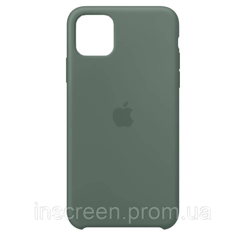 Чохол силіконовий Silicone Case для Apple iPhone 12 Mini Pine Green, фото 2