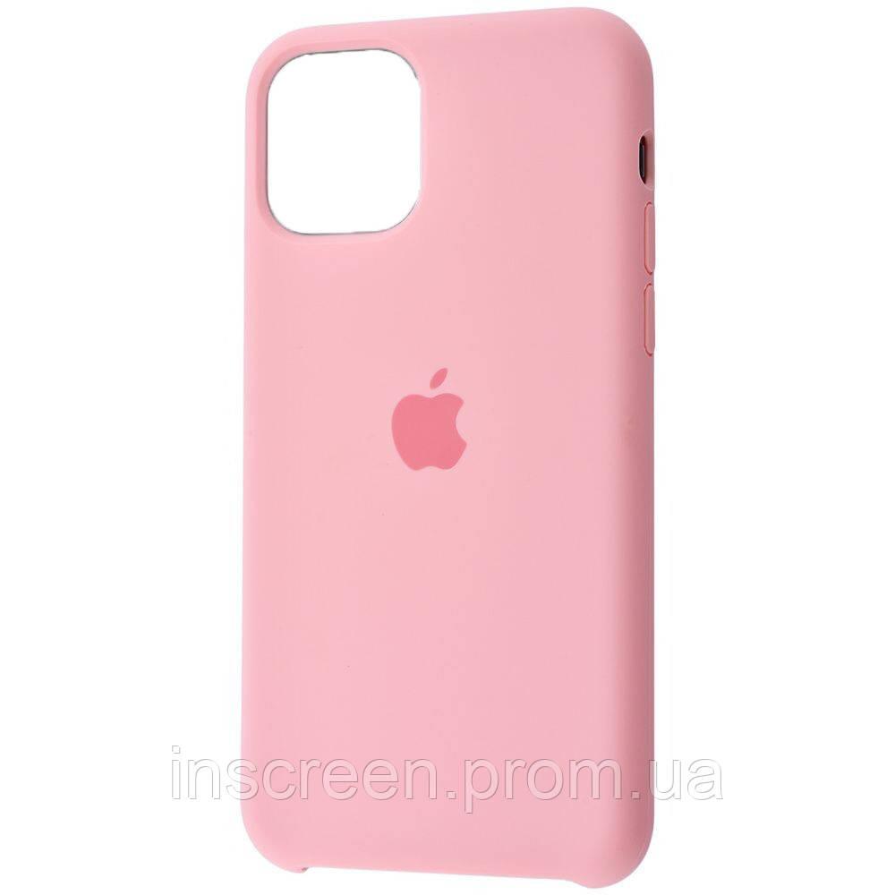 Чехол силиконовый Silicone Case для Apple iPhone 12 Mini Pink