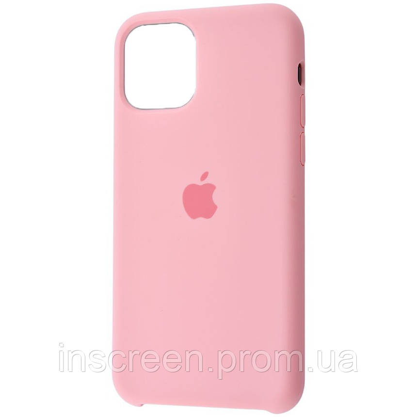 Чехол силиконовый Silicone Case для Apple iPhone 12 Mini Pink, фото 2