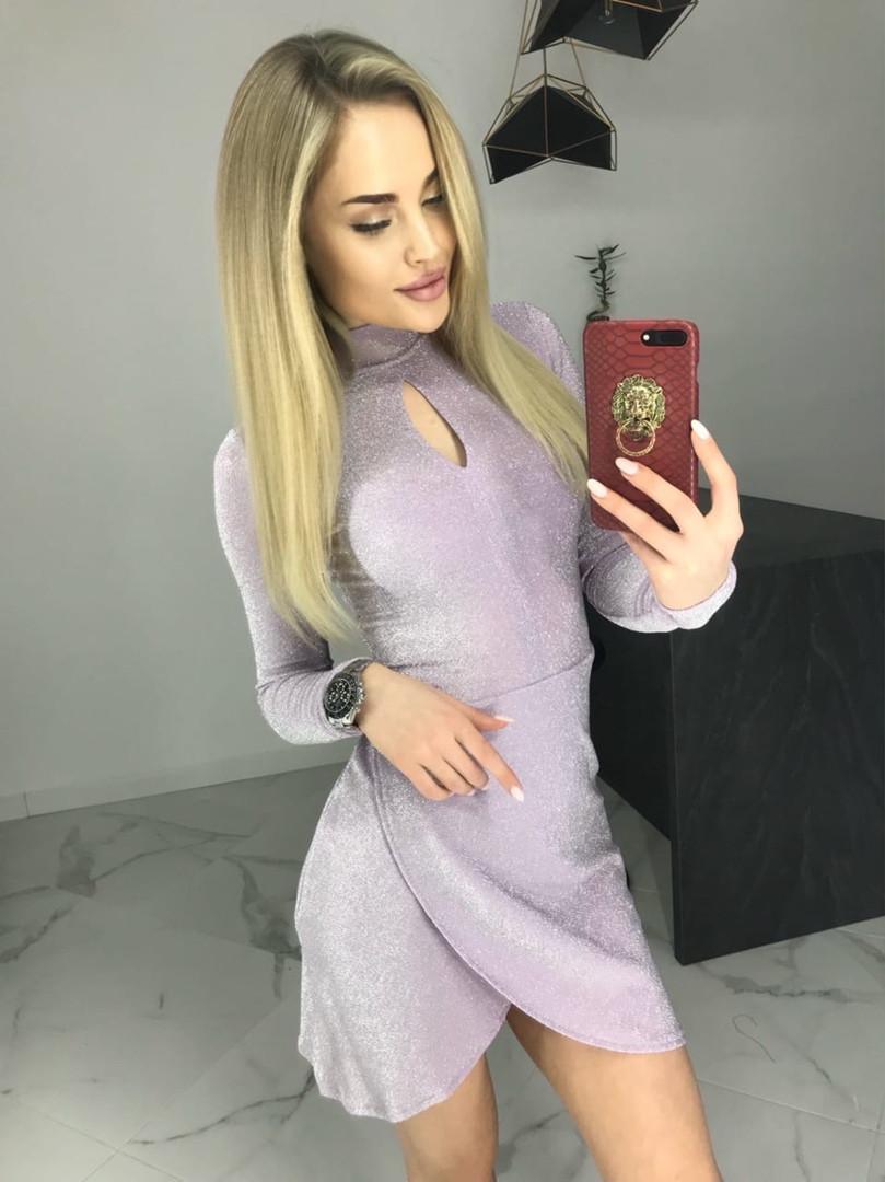 Вечернее платье блестящее