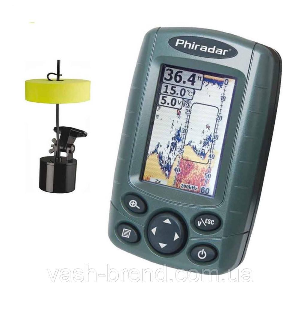 Эхолот Phiradar FF188A цветной переносной