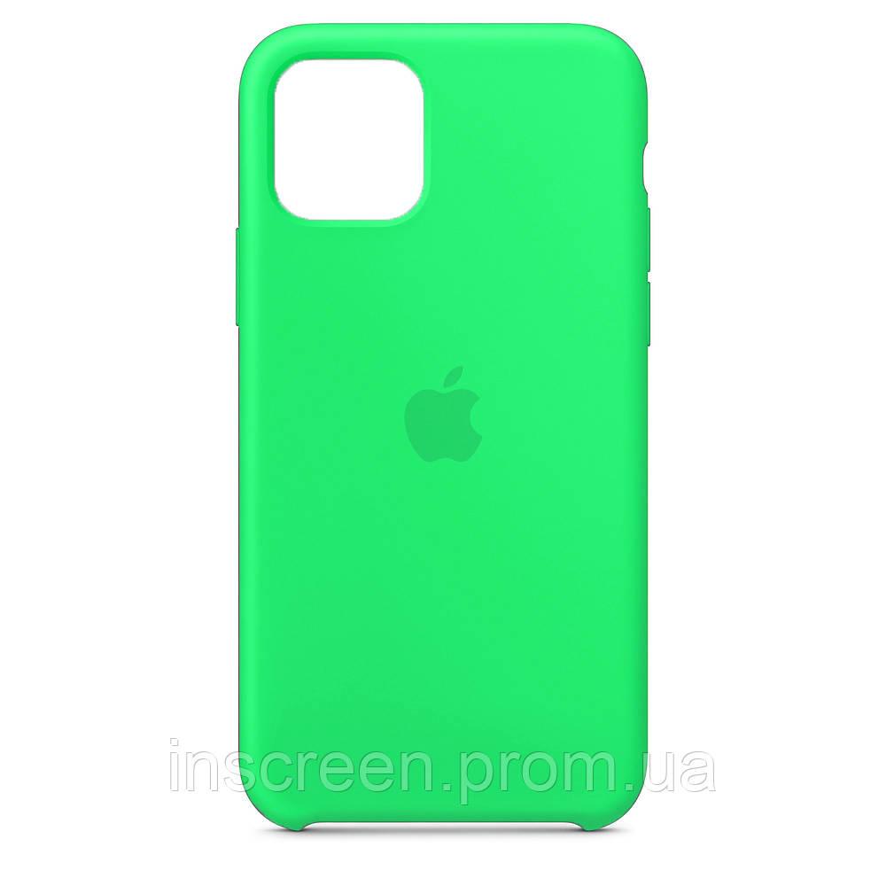 Чохол силіконовий Silicone Case для Apple iPhone 12 Mini Spearmint