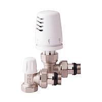 Термокомплект ICMA угловой 1/2 с антипротечкой KIT G 1100 +774-940 +805-940 для радиатора
