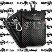 Чехол (кожаный) для смарт ключа Toyota (Тойота) 3 кнопки