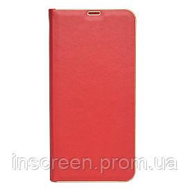 Чехол-книжка Florence TOP 2 Samsung A015F A01 (2020) под кожу красный
