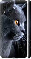 Силиконовый чехол на телефон Xiaomi Redmi Note 7 Красивый кот