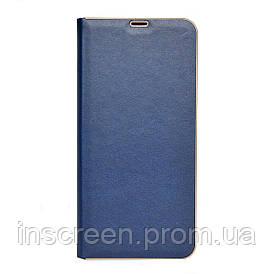 Чехол-книжка Florence TOP 2 Samsung A015F A01 (2020) под кожу синий