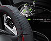 Чехол оплетка Circle Cool на руль для автомобиля Skoda c логотипом, фото 4