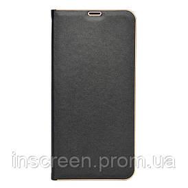 Чехол-книжка Florence TOP 2 Samsung A015F A01 (2020) под кожу черный