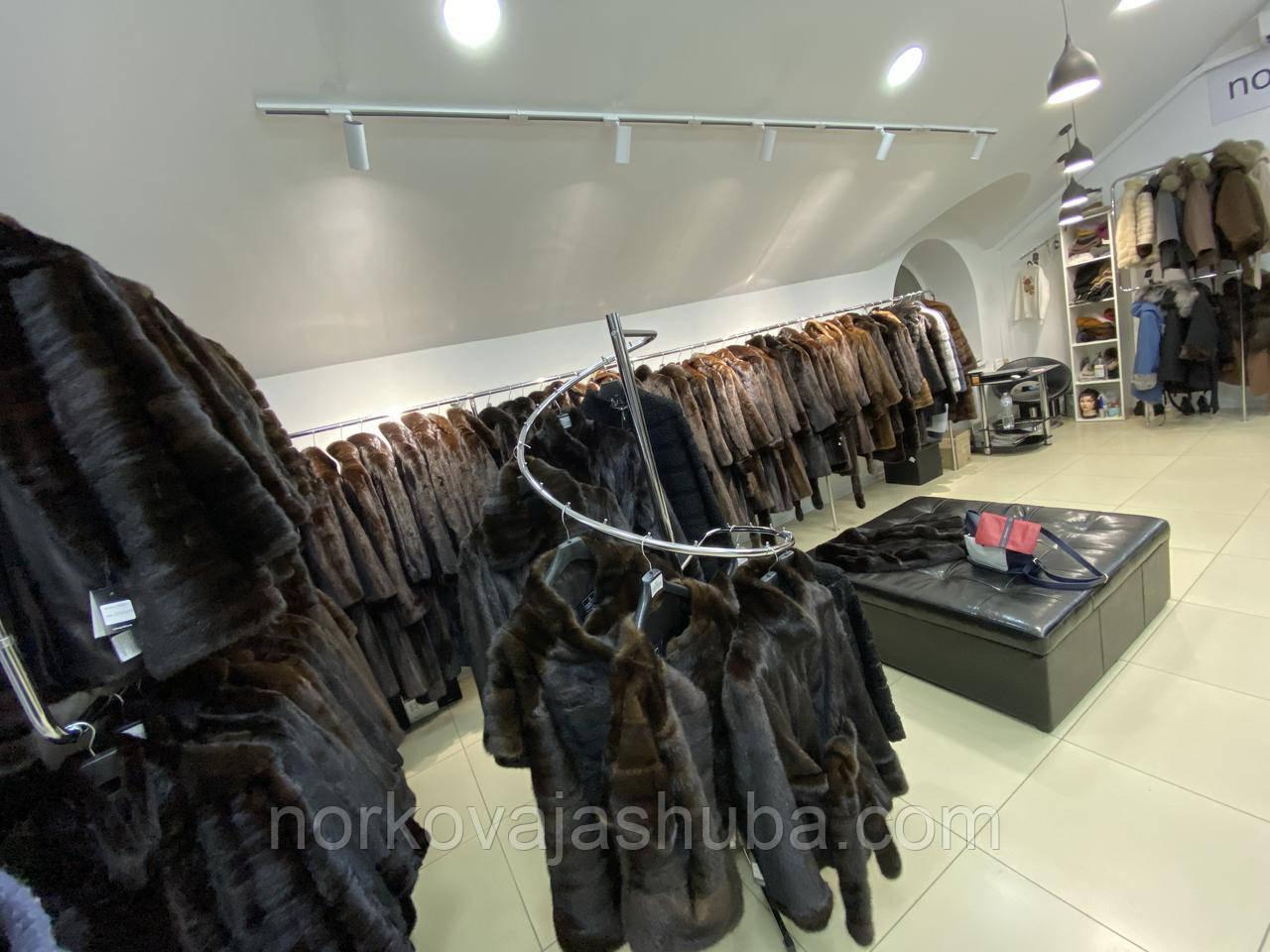 Норкова автоледі хутряна куртка 42 44 46