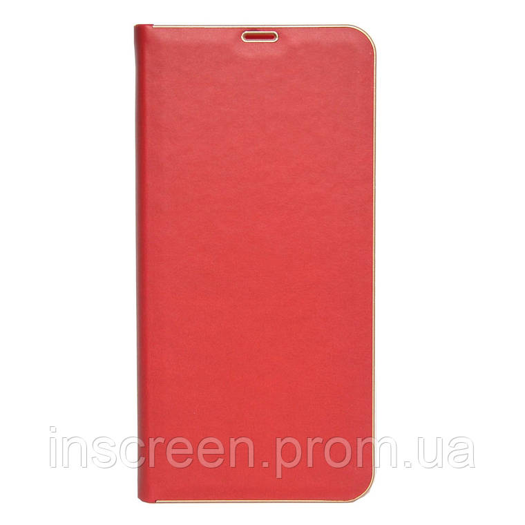 Чехол-книжка Florence TOP 2 Samsung A115F,M115F A11,M11 (2020) под кожу красный, фото 2