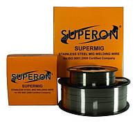 Сварочная проволока для нержавеющей стали Superon ER308L мм  / 5кг / Ø мм, фото 1