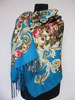 Палантин  цветной из пашмины производство Турция