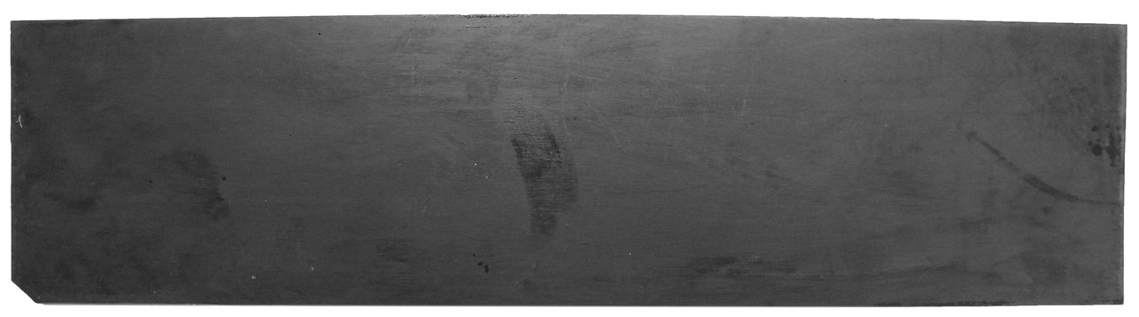Полиуретан  Економ 100*400 т. 3,0 мм. цвет черный.