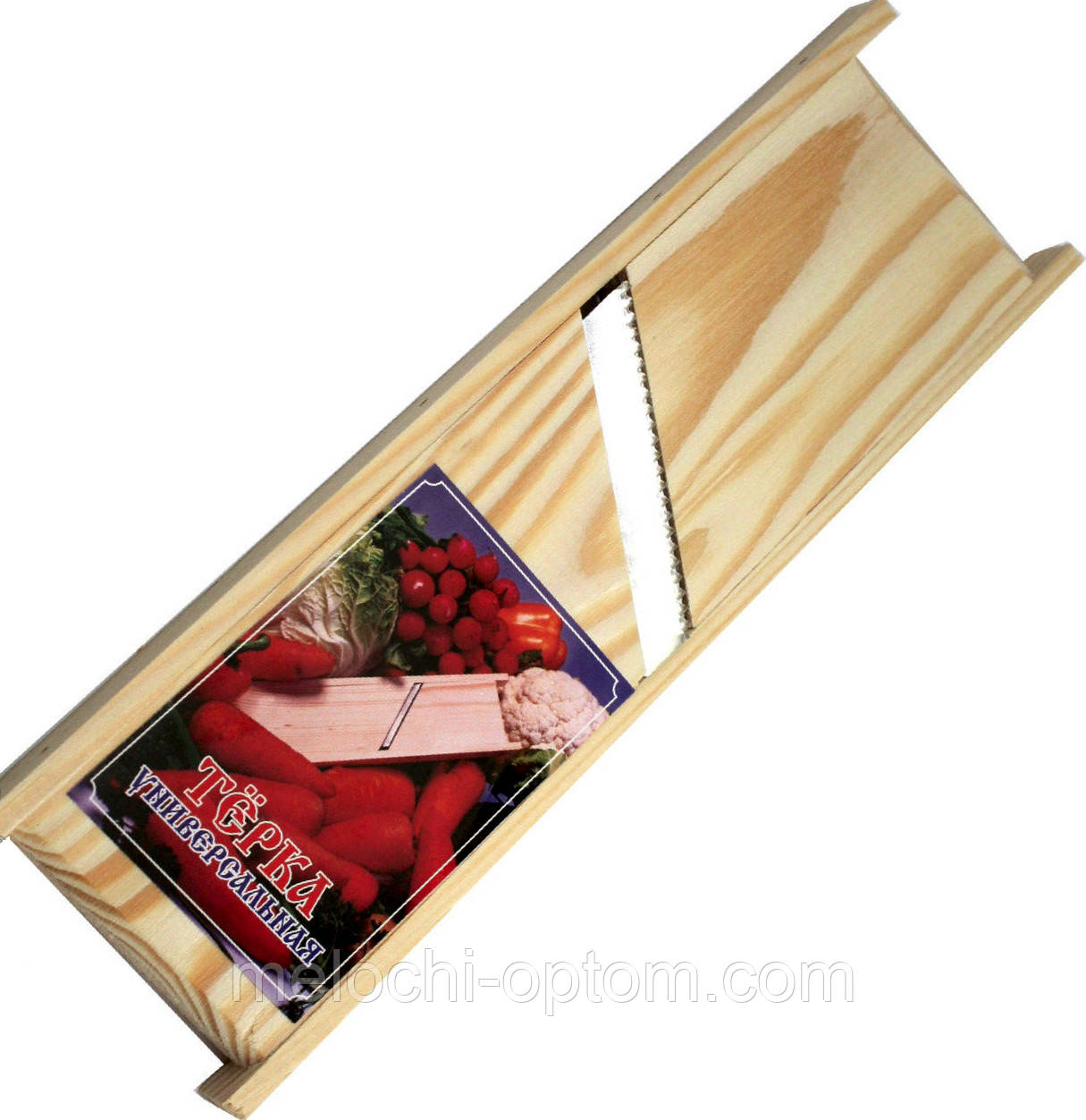Терки КОРЕЙКА универсальные для овощей (230х70mm) деревянные