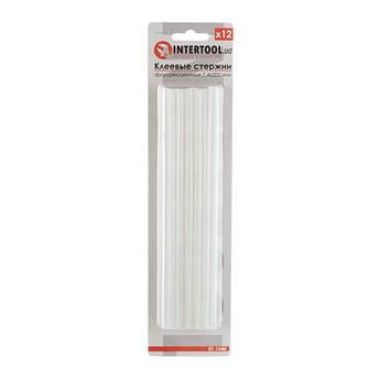 Комплект флуоресцентных клеевых стержней 7.4 мм*200мм, 12 шт INTERTOOL RT-1040