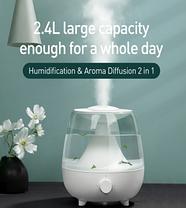 Увлажнитель воздуха Baseus Surge 2.4L desktop humidifie White, фото 2