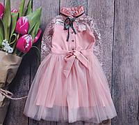 Нарядное платье на девочку 10 - 11 лет