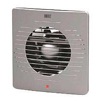 Вытяжной вентилятор HOROZ ELECTRIC 15W D120мм 220V серебро
