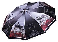 Сатиновый женский зонт Три Слона 10 СПИЦ ( полный автомат ) арт. L3102-7, фото 1