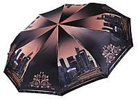 Сатиновый женский зонт Три Слона 10 СПИЦ ( полный автомат ) арт. L3102-9, фото 1
