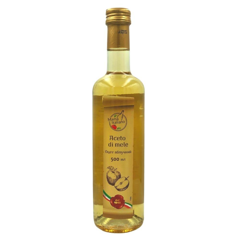 Оцет Mama Italiano яблучний 0.5 л, 12шт/ящ