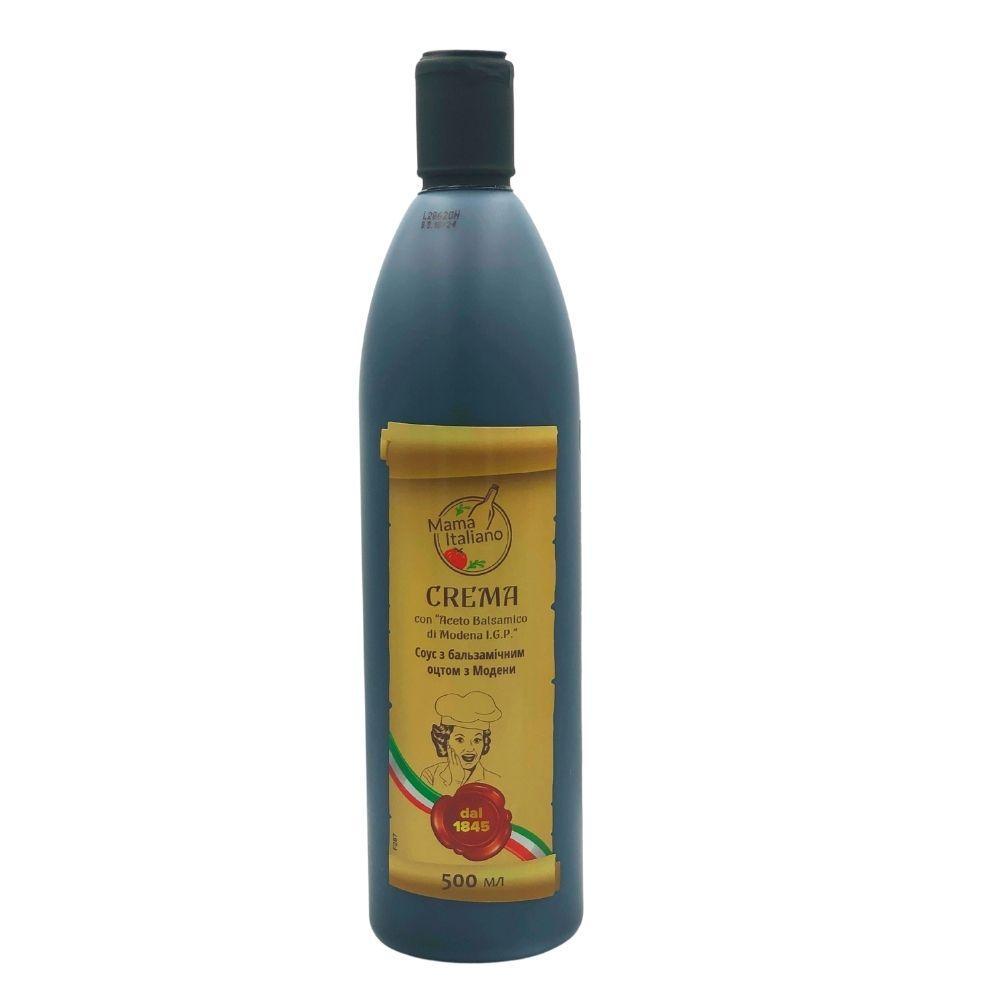 Бальзамічний соус Crema Mama Italiano 0,5л, 12 шт/ящ