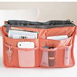 Органайзер Bag in bag maxi коралловый, фото 2