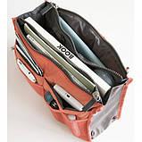Органайзер Bag in bag maxi коралловый, фото 3