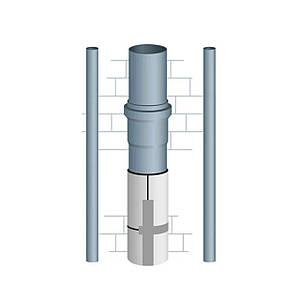 Шумоизоляция труб канализации 110 мм (12мм)