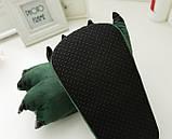 Домашние тапочки кигуруми Лапы Зеленые, фото 2