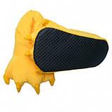 Домашние тапочки кигуруми Лапы Желтые, фото 3